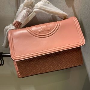 Tory Burch Fleming convertible leather Shoulder